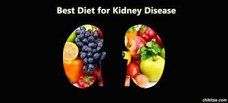 best diet for kidney disease chronic kidney disease diet food