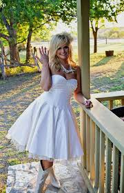 short country wedding dresses with cowboy boots naf dresses