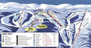 Map Of Colorado Ski Resorts by Wintergreen Ski Resort Trail Map U2022 Piste Map U2022 Panoramic Mountain Map