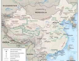 Ancient China Map China By David Carlson