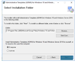 how to configure active directory group policies of microsoft edge