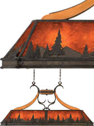 Best Pool Table Brands by Kalco Aspen Island Light Treescape 5827ni Mica Pool Table Light