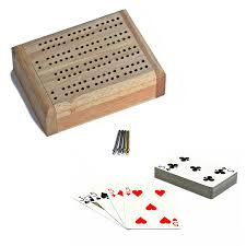 Solid Wood Mini Crib by Amazon Com We Games Mini Travel Cribbage Set Solid Wood 2 Track