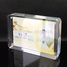 wedding gift photo frame 7x5 inch wedding gift plexiglass photo frame perspex picture