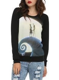 the nightmare before hill pullover top topic