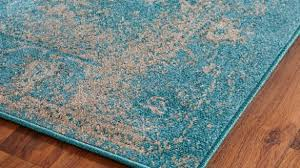 Over Dyed Distressed Rugs Rug Aqua Blue Area Rugs Wuqiangco Within Teal Colored Area Rugs
