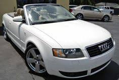 white audi a4 convertible for sale used 2006 56 reg white audi a4 1 8t 2dr convertible for sale on