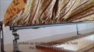 electrical conduit curtain rods youtube