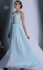 multi lai ki blue bohemia long dress dinner reception will dress