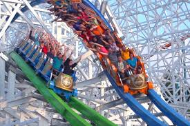 Biggest Six Flags Best Roller Coasters In The Us Thrillist
