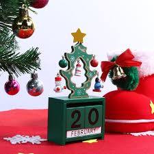 christmas mini wooden advent calendar creative gifts for kids
