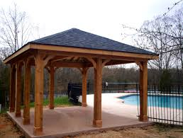 How To Build A Patio Awning How To Build Backyard Shade Structures Home Outdoor Decoration