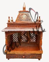 pooja mandapam designs handcrafted wooden temple pooja room mandir design in