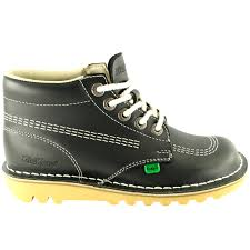 womens kickers boots womens kickers kick hi leather office work ankle boots
