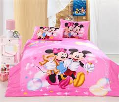 Pink Minnie Mouse Bedroom Decor Pink Mickey Mouse And Minnie Mouse Twin Full Bedding Disney