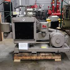 used leroi 50 hp reciprocating piston air compressor u2022 4 000 00