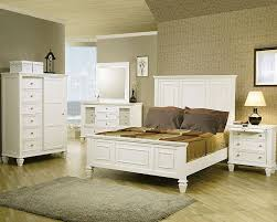 Beachy Bed Sets Coaster Bedroom Set In White Co 201301 Set