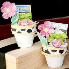 Flower Favors by Adorable Baby Shower Favors