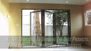Patio Doors Folding Aluminum Bifold Doors Folding Glass Patio Doors