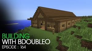 minecraft building with bdoubleo episode 164 horse stable