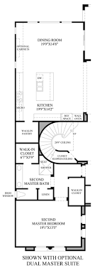 dual master bedroom floor plans altura the sondrio home design