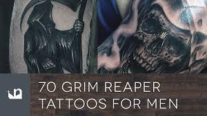 70 grim reaper tattoos for men youtube