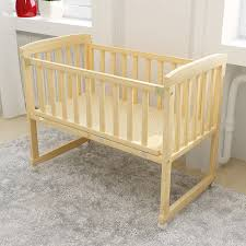 natural wood baby crib dandy black wood stained romina cribs