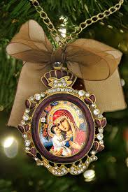 ornif 1rv 42 faberge style christmas ornament theotokos and
