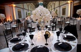 black and white wedding 58 black and white wedding table settings happywedd