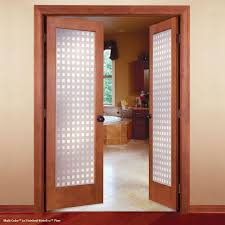 feather river doors 32 in x 80 in multicube woodgrain 1 lite