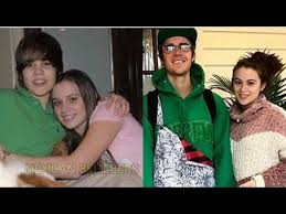 justin bieber celebrates thanksgiving with ex caitlin