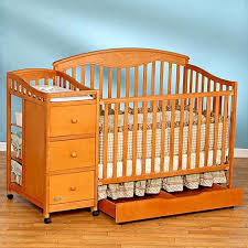 Convertible Crib Changer Combo by Convertible Crib With Changing Table Shelby Knox
