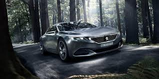 peugeot concept car peugeot exalt concept cars peugeot design lab
