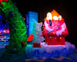 charlie brown christmas lights deal 30 off and child ice tickets featuring a charlie brown