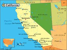 map of california map of california major cities deboomfotografie