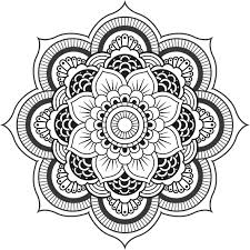 Fleur De Lotus Tattoo by Flower Mandala Color Pages Pinterest Flower Mandala Flower