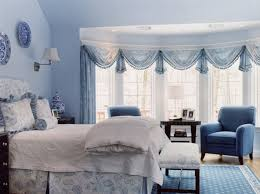 White Curtains With Blue Trim Decorating Nautical Master Bedroom Ideas With Curtains And Drapes Home Within