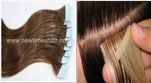 hair extension types different types of hair extension