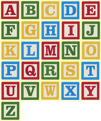 4 inch building block letters and numbers machine embroidery
