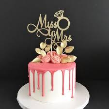 where to buy cake toppers miss to mrs cake topper to be bridal shower cake topper