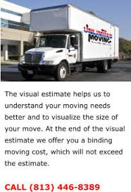 Household Goods Move Estimate by Unlimited Moving 813 446 8389
