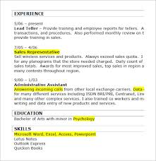 Sample Resume Of Sales Associate by Retail Resumes U2013 7 Free Samples Examples Format