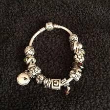 bracelet with beads images Pandora jewelry bracelet with beads poshmark jpg