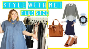 what to wear to job interview female style with me plus size work job interview youtube