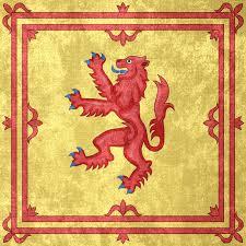 kingdom of scotland grunge flag 1222 1707 by undevicesimus