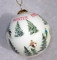 park ski ornament