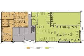 fitness center floor plan fitness center de meza architecture
