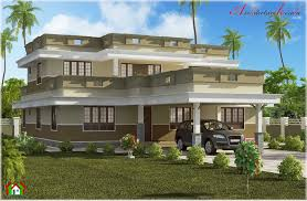 Kerala Home Design Flat Roof Elevation by Beautiful Flat Roof Home Design Architecture Kerala