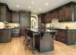Black Walnut Kitchen Cabinets Walnut Kitchen Cabinets Black Marble Countertop Cabinet