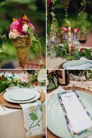 Garden Wedding Idea Floral Packed Garden Wedding Ideas